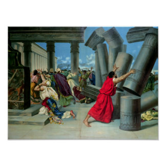 Samson y Delilah Poster