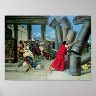 Samson y Delilah Póster