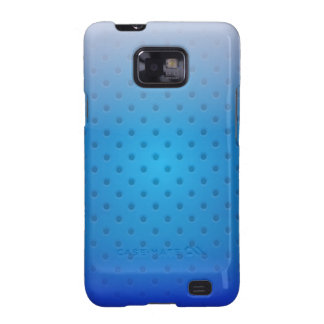 Samsumg Case glossy metal grid Galaxy SII Cover