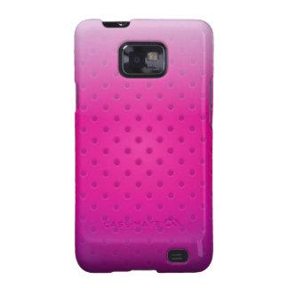 Samsumg Case glossy metal grid Samsung Galaxy SII Case