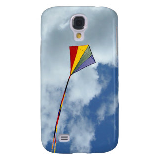 Samsun Galaxy S4- Kite among the clouds Samsung S4 Case