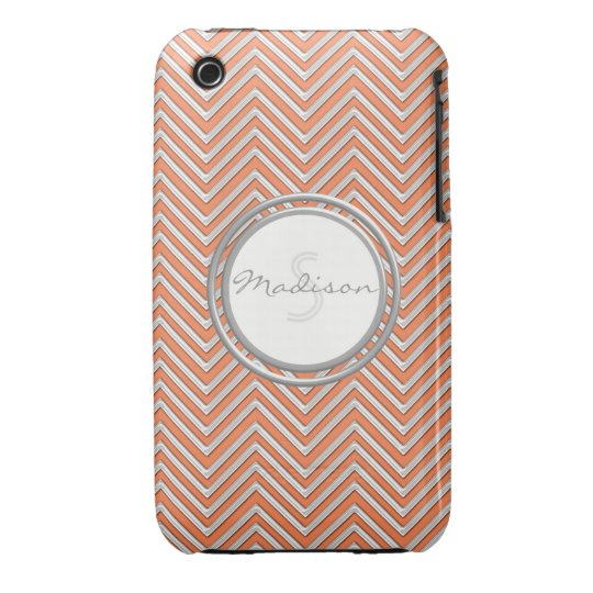 Samsung 3 - Chevron Pattern Modern Stripe Zig Zag iPhone 3 Cover