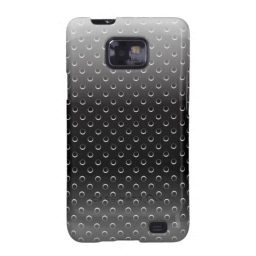 Samsung Case glossy metal grid Samsung Galaxy S Case