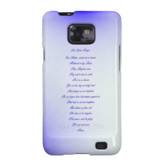Samsung Case , The Lord's Prayer Samsung Galaxy SII Covers
