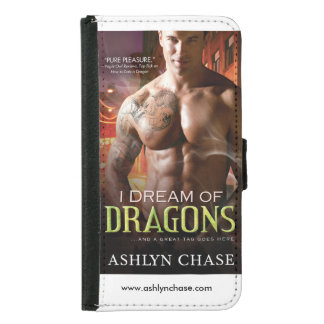 Samsung Case with Ashlyn Chase Bookcover