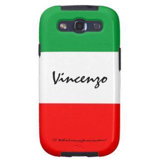 Samsung del hombre de encargo de la bandera italia galaxy s3 fundas