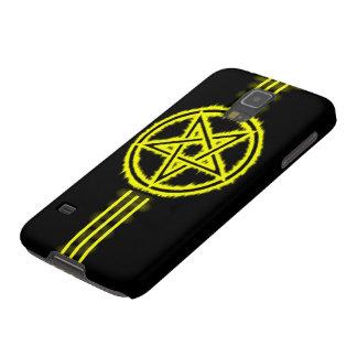 Samsung Elite Golden Devil Pentagram Galaxy S5 Cases