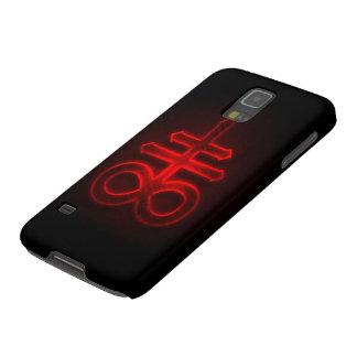 Samsung Elite Red Antichrist Symbol Galaxy S5 Cover