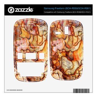 Samsung Freeform SCH-R350 SCH-R351 Skin For Samsung Freeform