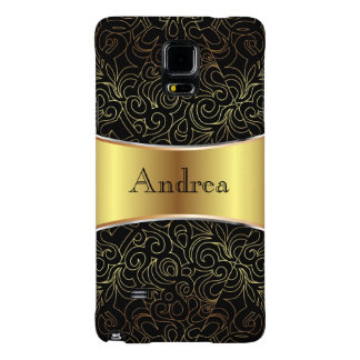 Samsung G Note 4 Case Floral Abstract Damasks