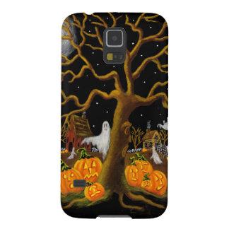 Samsung, galaxia, nexo, caso, Halloween, cementeri Fundas Para Galaxy S5