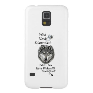 Samsung Galaxy 5 Case - Wolf Mountain Sanctuary Galaxy S5 Cover