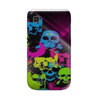 Samsung Galaxy bt - 70's Disco Skulls casematecase