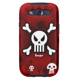 Samsung Galaxy bt - Damage Inc Skull Galaxy S3 Cover
