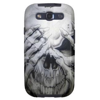 Samsung Galaxy bt - Peek-a-BOO Skull Galaxy SIII Cases