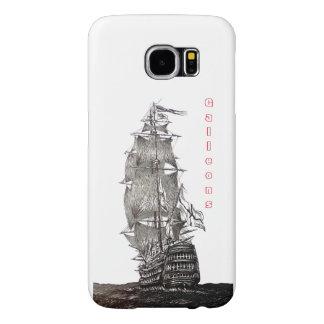 Samsung Galaxy case and Old Sailboat