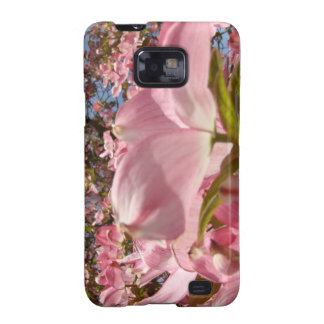 Samsung Galaxy cases Pink Dogwood Flowers nature Galaxy S2 Covers