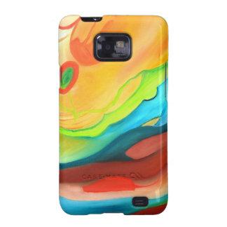 Samsung Galaxy Couple in heaven color Samsung Galaxy SII Cases