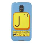 J JENNIFER'S PHONE  Samsung Galaxy Nexus Cases