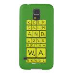 keep calm and love Retha wa Bongz  Samsung Galaxy Nexus Cases