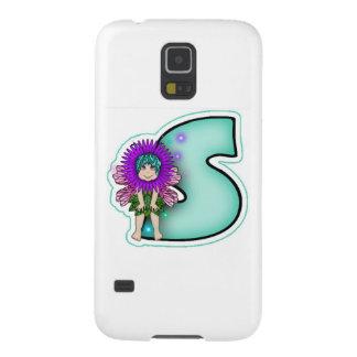 Samsung Galaxy Nexus Cute Fairy Initial Letter S Case For Galaxy S5