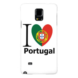 Samsung Galaxy Note 4 Barely There I Love Portugal Galaxy Note 4 Case