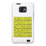 ABCDE FGHIJ KLMNO PQRST VWXYZ  Samsung Galaxy S2 Cases