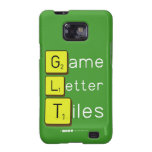 Game Letter Tiles  Samsung Galaxy S2 Cases