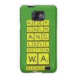 keep calm and love Retha wa Bongz  Samsung Galaxy S2 Cases