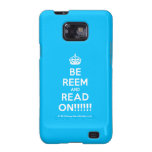 [Crown] be reem and read on!!!!!!  Samsung Galaxy S2 Cases