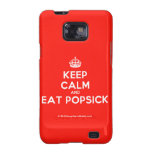 [Crown] keep calm and eat popsick  Samsung Galaxy S2 Cases