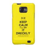 [UK Flag] keep calm i'll do it dreckly  Samsung Galaxy S2 Cases