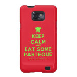 [Chef hat] keep calm and eat some pasteque  Samsung Galaxy S2 Cases