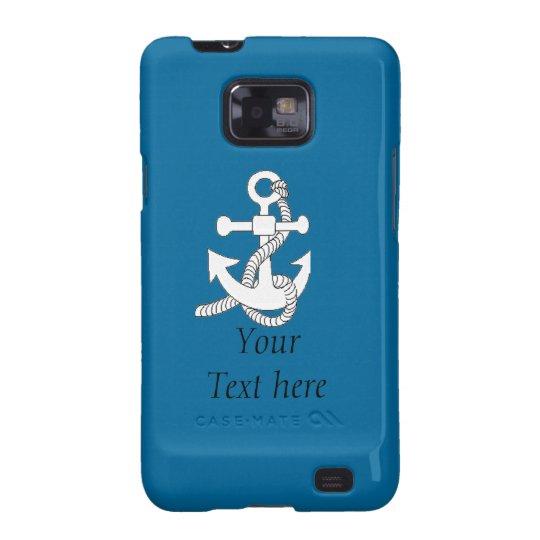 Samsung Galaxy S2 - Ship's Anchor v.2 Galaxy SII Case