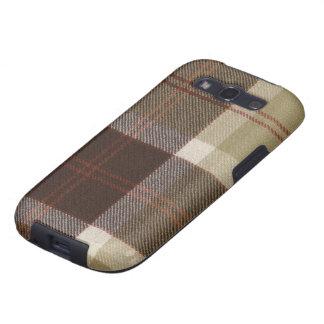 Samsung Galaxy S3 Bannockbane Tartan Print Case Samsung Galaxy S3 Cover