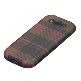 Samsung Galaxy S3 Buchan Clan Weathered Tartan Galaxy S3 Covers