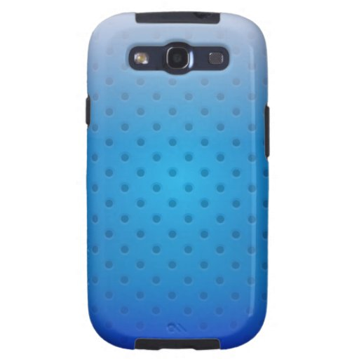 Samsung Galaxy S3 Case glossy metal grid