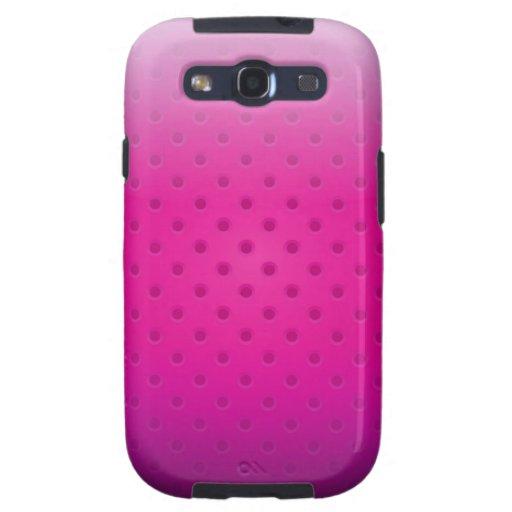 Samsung Galaxy S3 Case glossy metal grid Samsung Galaxy S3 Case