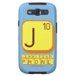 J JENNIFER'S PHONE  Samsung Galaxy S3 Cases