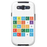 Abcdef ghijk lmnopq rstuv wxy&z  Samsung Galaxy S3 Cases