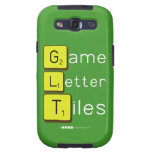 Game Letter Tiles  Samsung Galaxy S3 Cases