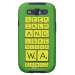 keep calm and love Retha wa Bongz  Samsung Galaxy S3 Cases