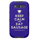 [Chef hat] keep calm and eat sausage  Samsung Galaxy S3 Cases