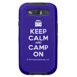 [Campervan] keep calm and camp on  Samsung Galaxy S3 Cases