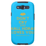 [Two hearts] don't cry coz niall horan loves you  Samsung Galaxy S3 Cases