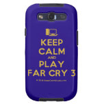 [Computer] keep calm and play far cry 3  Samsung Galaxy S3 Cases