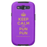 [Crown] keep calm and pun pun  Samsung Galaxy S3 Cases