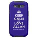 [Crown] keep calm and love allah  Samsung Galaxy S3 Cases