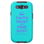 [Knitting crown] faith trust and pixie dust  Samsung Galaxy S3 Cases