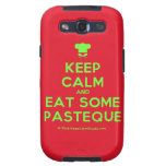 [Chef hat] keep calm and eat some pasteque  Samsung Galaxy S3 Cases